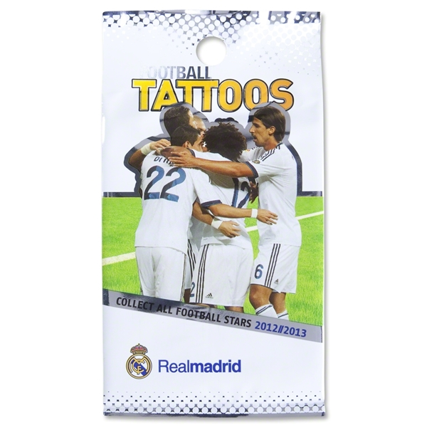 Real Madrid Temporary Tattoos