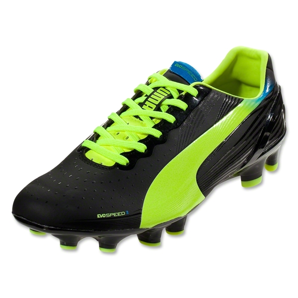 PUMA evoSPEED 2.2 FG (Black/Fluorescent Yellow)