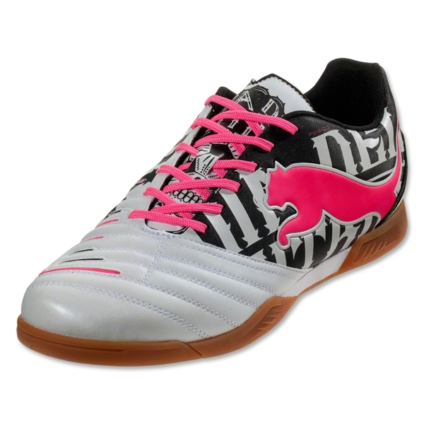 PUMA PowerCat 3 Graphic IT (Metallic White/Black/Fluo Pink)