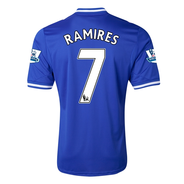 Chelsea 13/14  7 RAMIRES Home Soccer Jersey