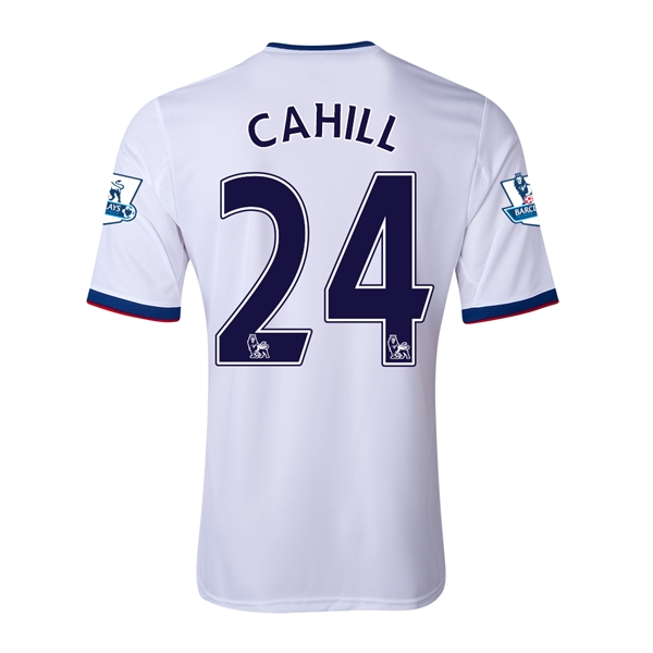 Chelsea 13/14 24 CAHILL Away Soccer Jersey