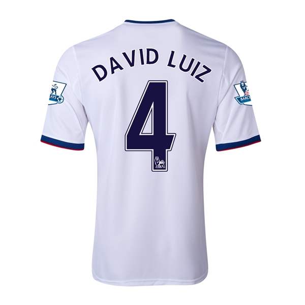 Chelsea 13/14 DAVID LUIZ Away Soccer Jersey