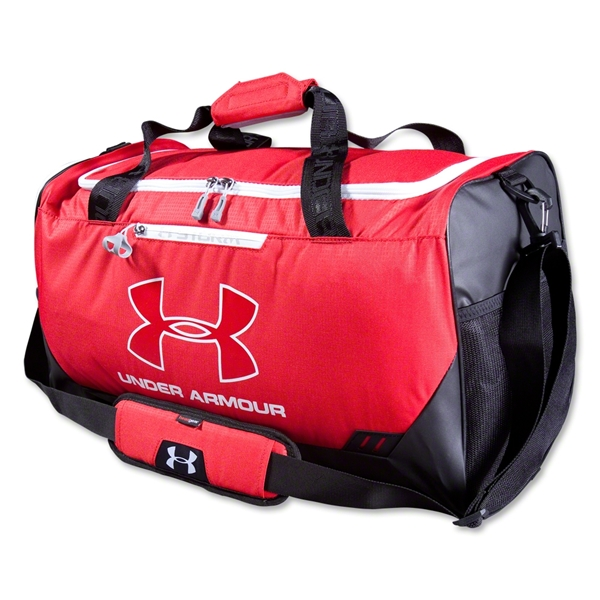 Under Armour Hustle MD Duffle (Red)