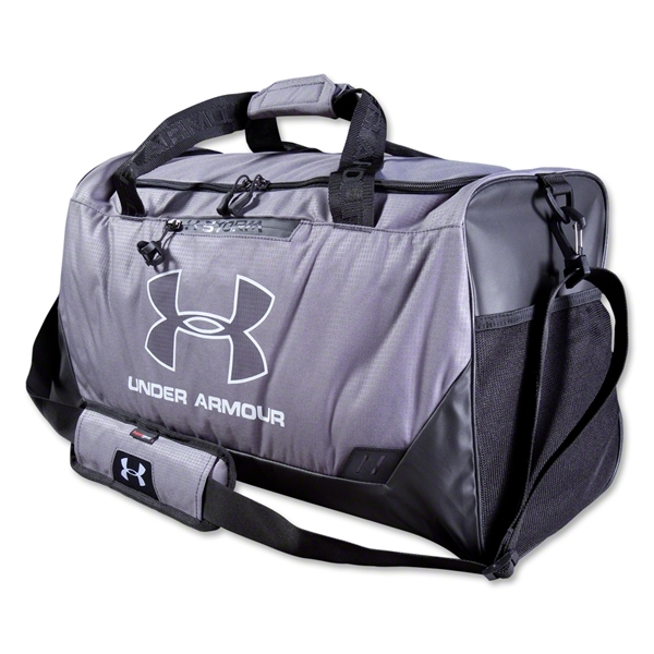 Under Armour Hustle MD Duffle (Gray)