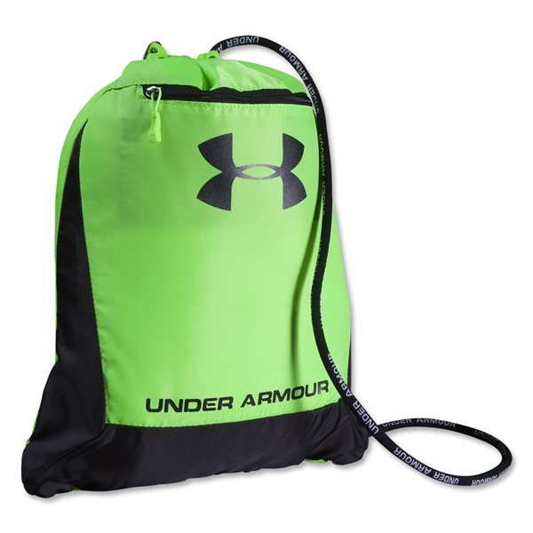 Under Armour Hustle Sackpack (Neon Green)