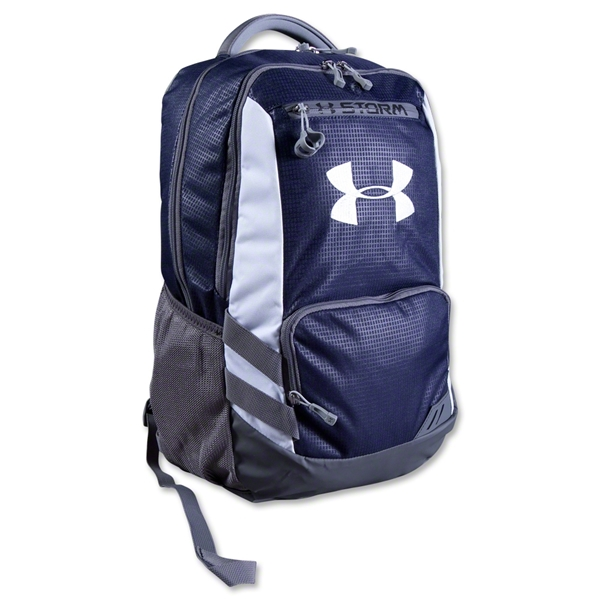 Under Armour Hustle Backpack (Navy)