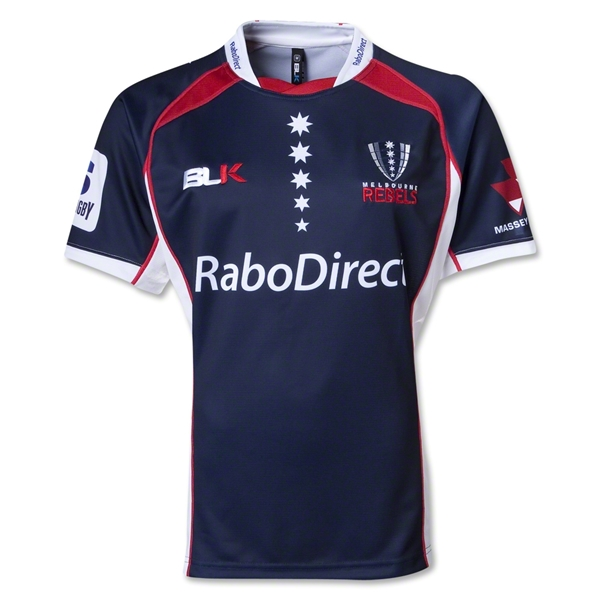 Melbourne Rebels 2013 Home SS Rugby Jersey