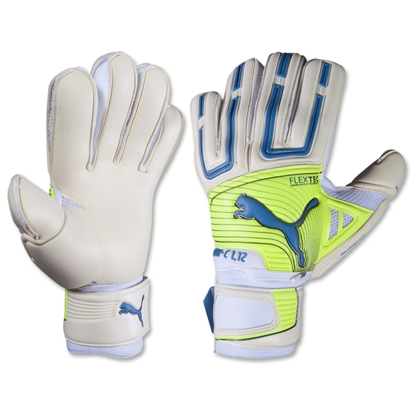 PUMA Powercat 1.12 Protect Glove (White/Fluo Yellow)