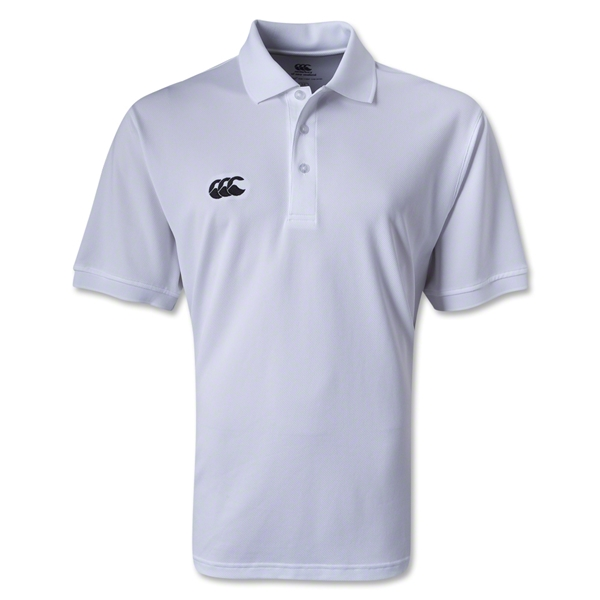 Canterbury CCC Mesh Team Polo (White)