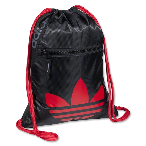 adidas Originals Icons Sackpack (Black/Red)