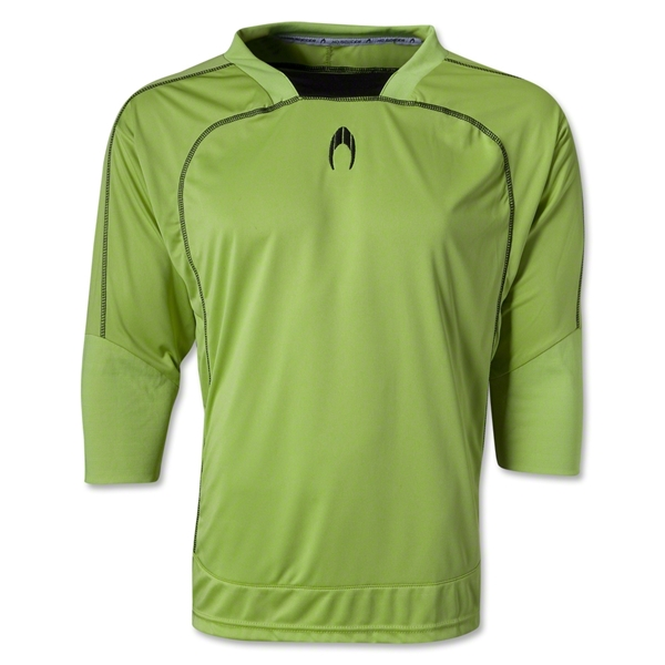 HO Soccer Cool 3/4 Goalkeeper Jersey (Neon Green)
