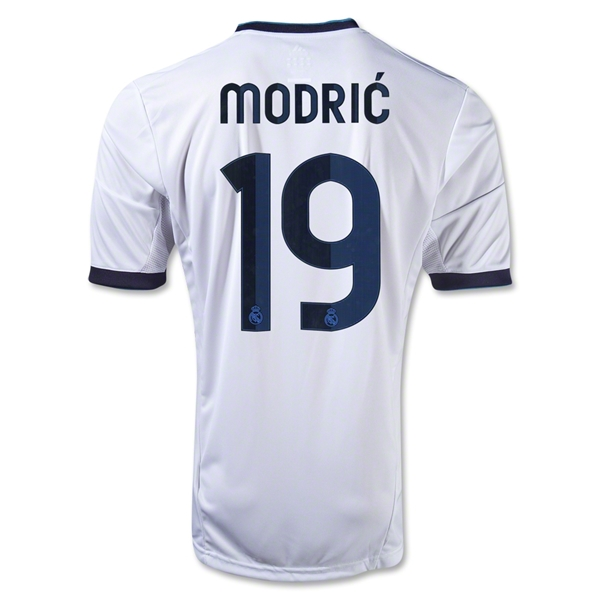 Real Madrid 12/13 Luka Modric Home Soccer Jersey