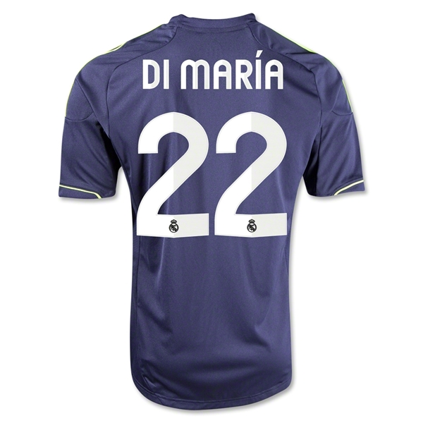 Real Madrid 12/13 Angel di Maria Away Soccer Jersey
