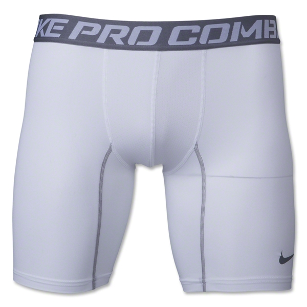Nike Core Compression 6 Short (White/Gray)