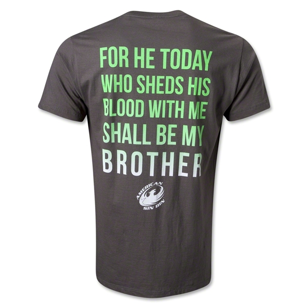 American Sin Bin Brotherhood T-Shirt (Dark Gray)