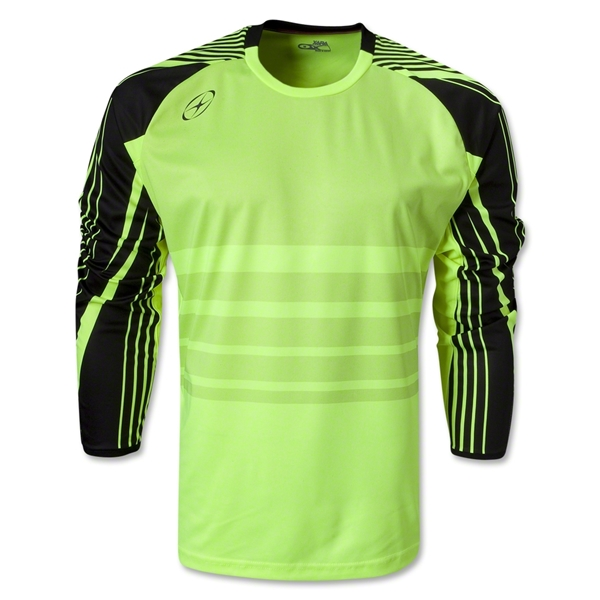 Xara Defender Goalkeeper Jersey (Neon Yellow)