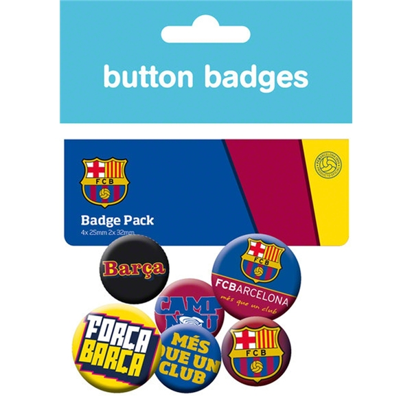 Barcelona Crest Badges Pack