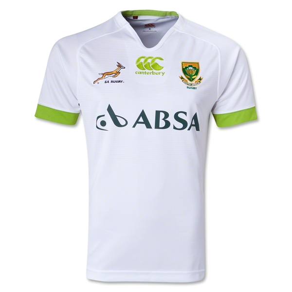 South Africa Springboks Pro 13/14 Alt Rugby Jersey