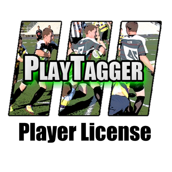 PlayTagger Player License (Lifetime Subscription)