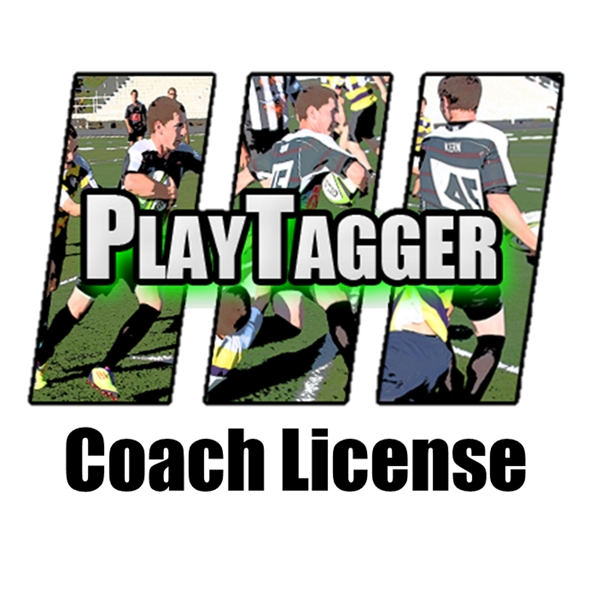 PlayTagger Coach License (Annual Subscription)