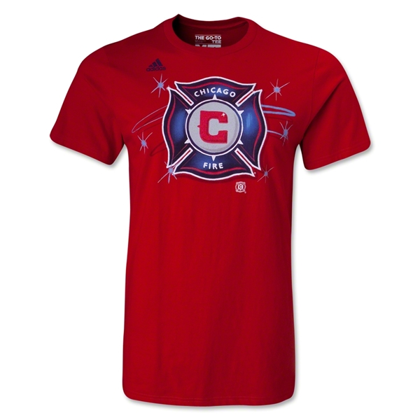 Chicago Fire Wordmark T-Shirt