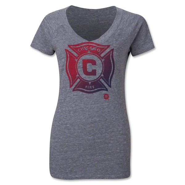Chicago Fire Originals Women's Halftone T-Shirt