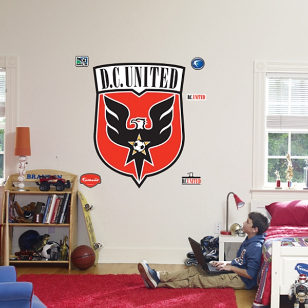 D.C. United Fathead Logo Wall Graphic