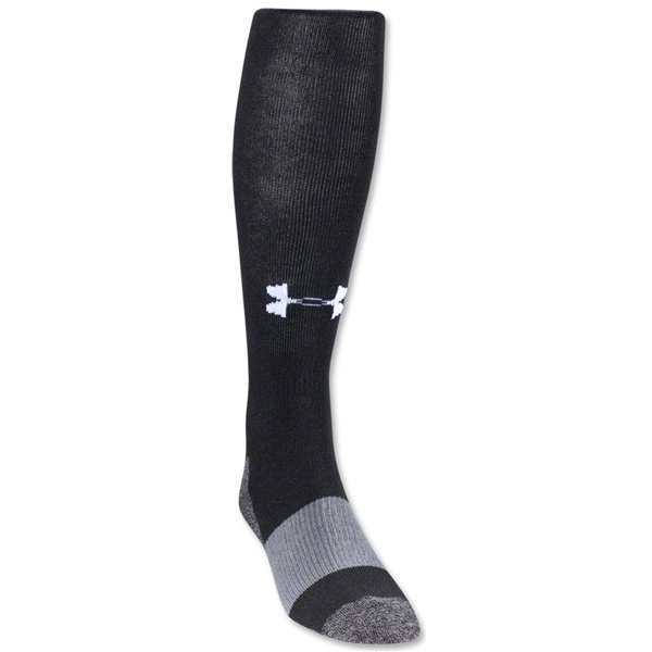 Under Armour Solid Over-the-calf Sock (Black)