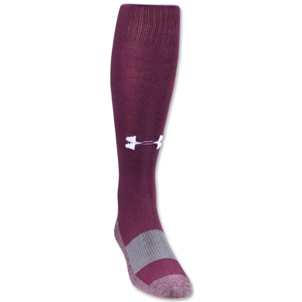 Under Armour Solid Over-the-calf Sock (Cardinal)