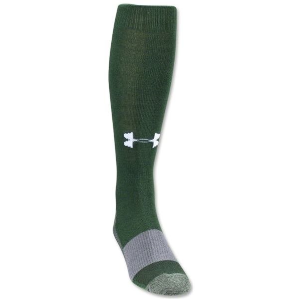 Under Armour Solid Over-the-calf Sock (Dark Green)