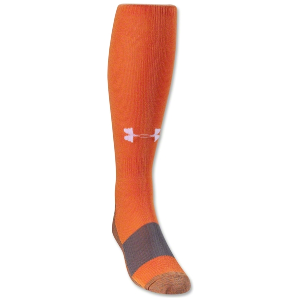 Under Armour Solid Over-the-calf Sock (Orange)