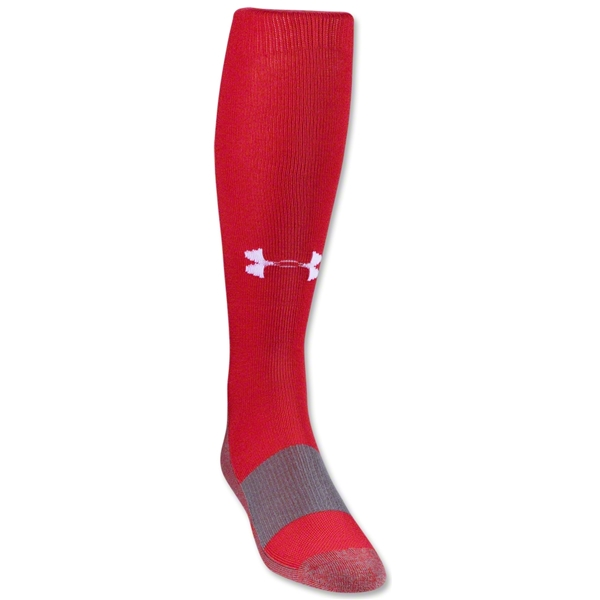 Under Armour Solid Over-the-calf Sock (Red)