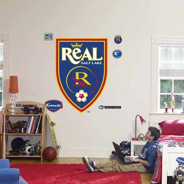 Fathead Real Salt Lake Logo Wall Graphic