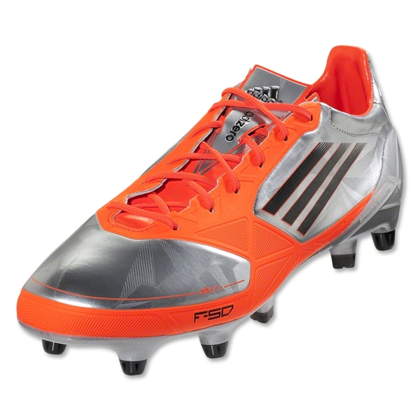 adidas F50 adizero XTRX SG Synthetic (Metallic Silver/Black/Infrared)