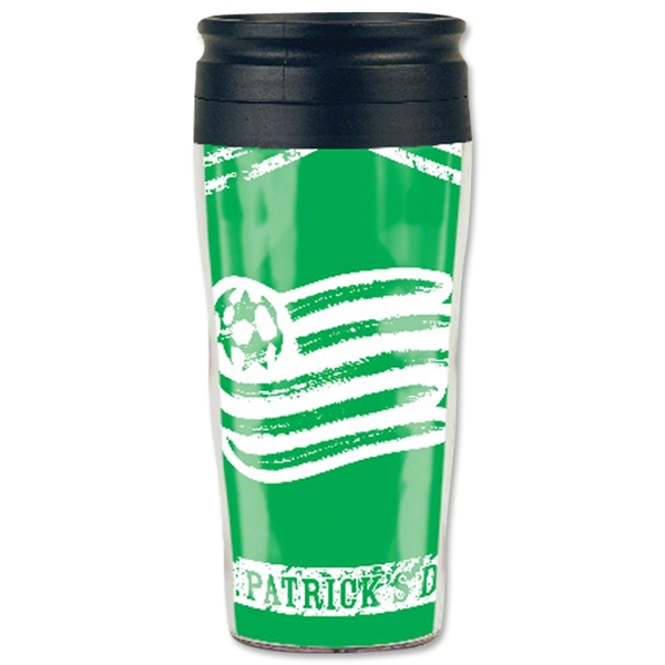 New England Revolution St. Patrick's Day Travel Mug