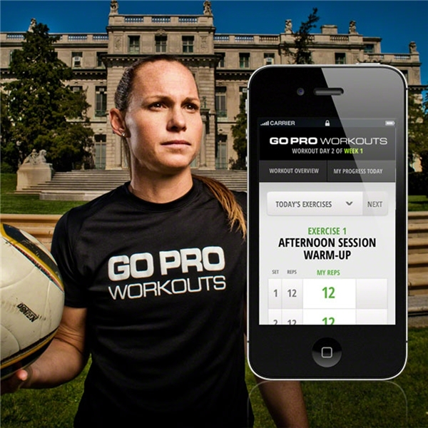 Go Pro Workouts-Christie Rampone