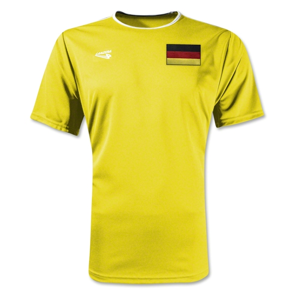 Germany Primera Soccer Jersey (Yellow)
