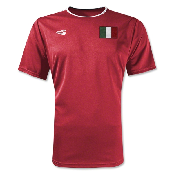 Italy Primera Soccer Jersey (Red)