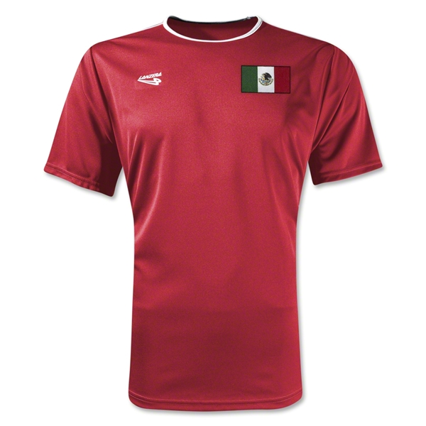 Mexico Primera Soccer Jersey (Red)