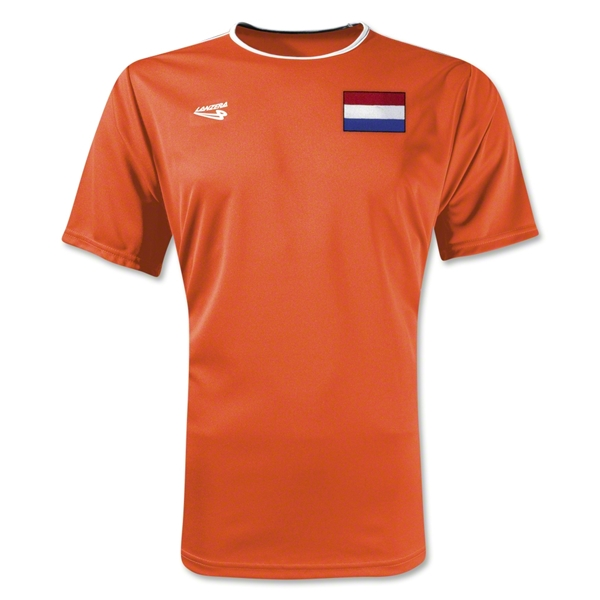 Netherlands Primera Soccer Jersey (Orange)