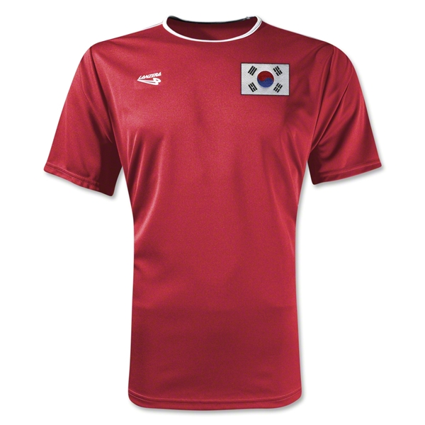 South Korea Primera Soccer Jersey (Red)