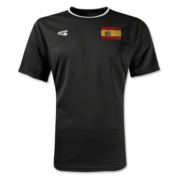 Spain Primera Soccer Jersey (Black)
