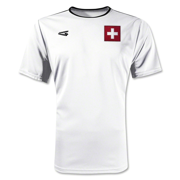 Switzerland Primera Soccer Jersey (White)