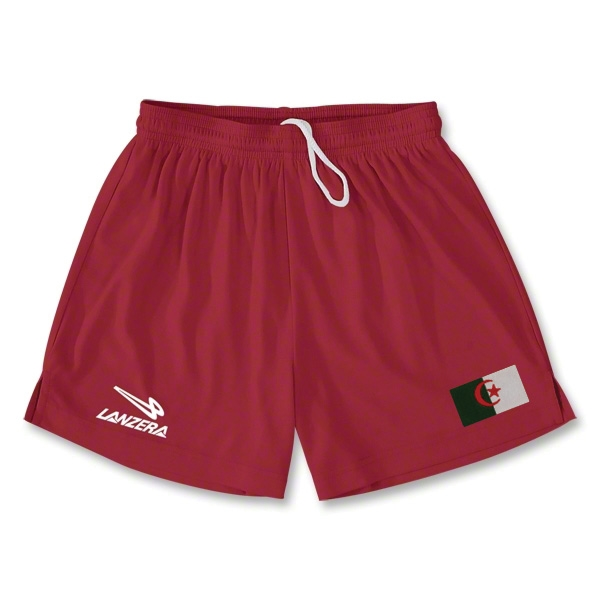 Algeria Primera Soccer Shorts (Red)