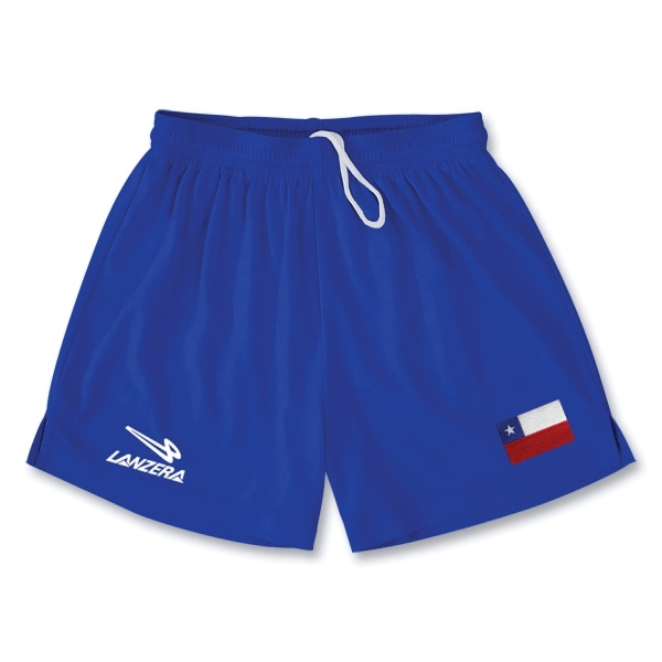 Chile Primera Soccer Shorts (Royal)