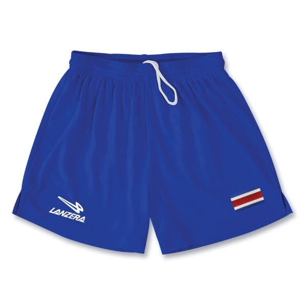 Costa Rica Primera Soccer Shorts (Royal)