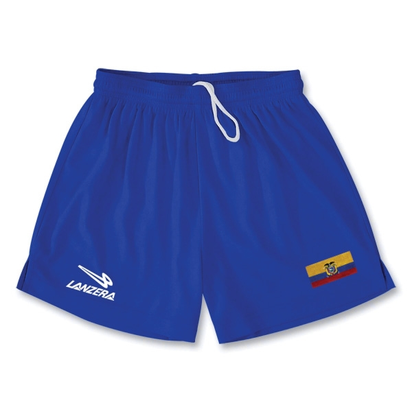 Ecuador Primera Soccer Shorts (Royal)
