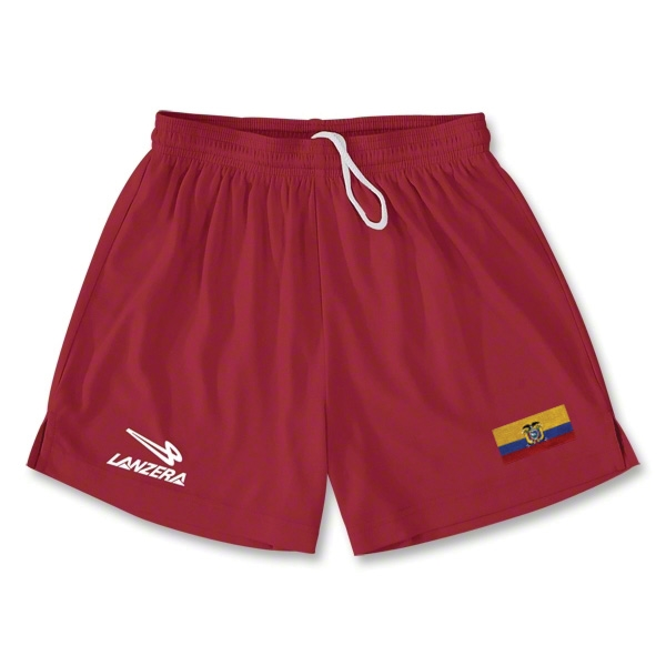 Ecuador Primera Soccer Shorts (Red)