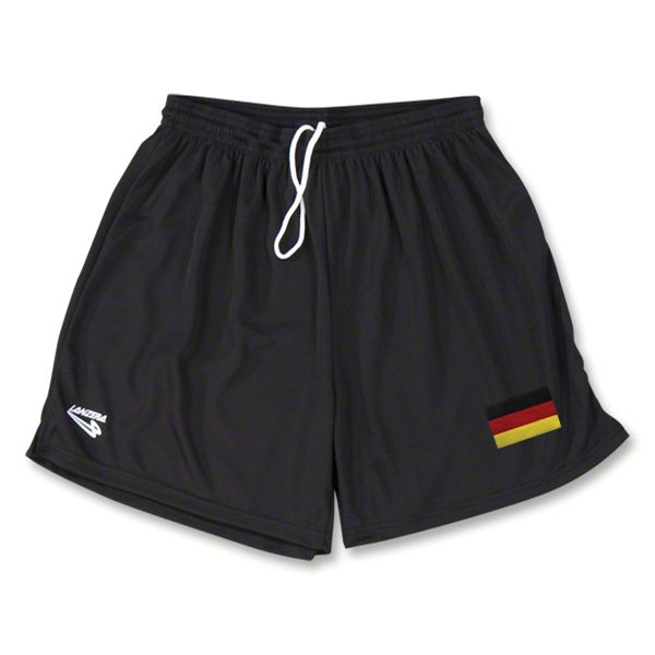 Germany Primera Soccer Shorts (Black)