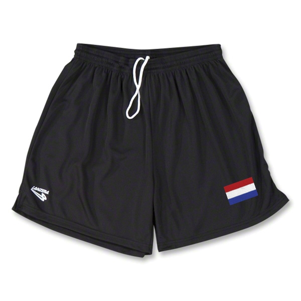 Netherlands Primera Soccer Shorts (Black)